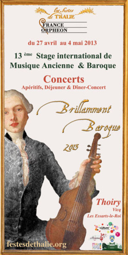Brillamment Baroque 2013