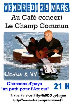 Concert Clodius & VV- Chansons de Pays