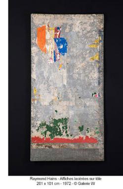 GALERIE W @ ART PARIS = RAYMOND HAINS - 28 MARS / 1 AVRIL