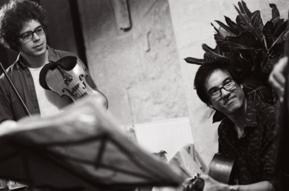 Serge Hirsch gipsy trio à la Cave du 38Riv'