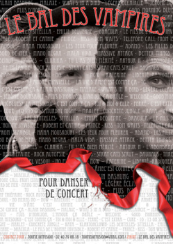 Concert Le bal des vampires - Samedi 11 mai à 21h00- Le champ commun-Augan(56)