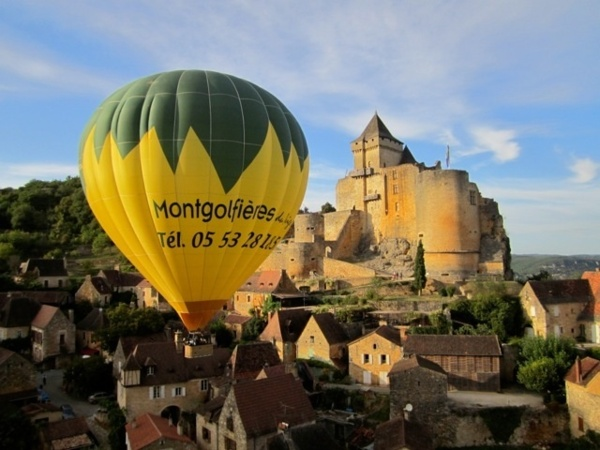 MONTGOLFIERE du PERIGORD : Clos Saint Donat 24 250 LA ROQUE - GAGEAC