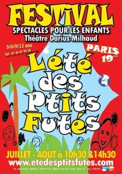 """Festival pour enfants """"L'été des P'tits Futés"""""""