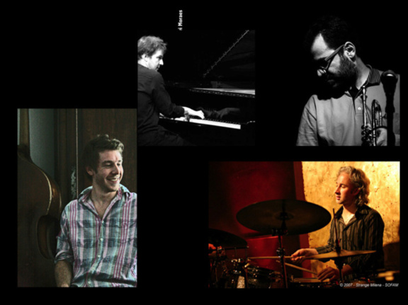 Rubinho Antunes Quartet en concert au 38Riv'