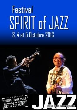 """Festival """"SPIRIT of JAZZ"""" - les 3, 4 et 5 octobre 2013"""