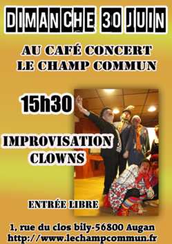 Impro Spectacle clowns