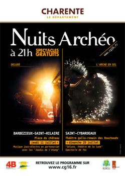 Nuits Archéo 2013