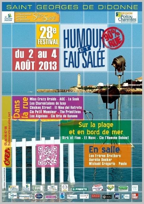 28ème édition du Festival Humour et Eau Salée