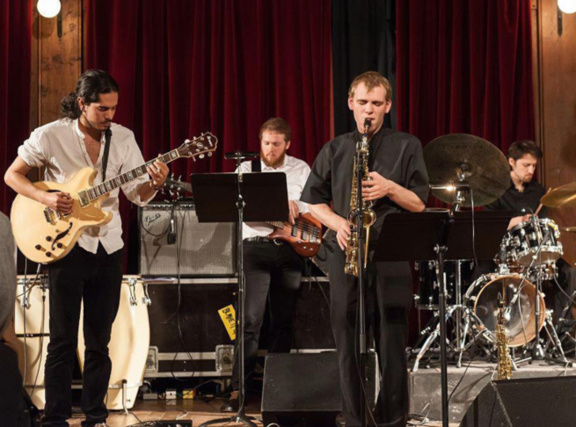 Ivan Quintero Quartet en concert au 38Riv'