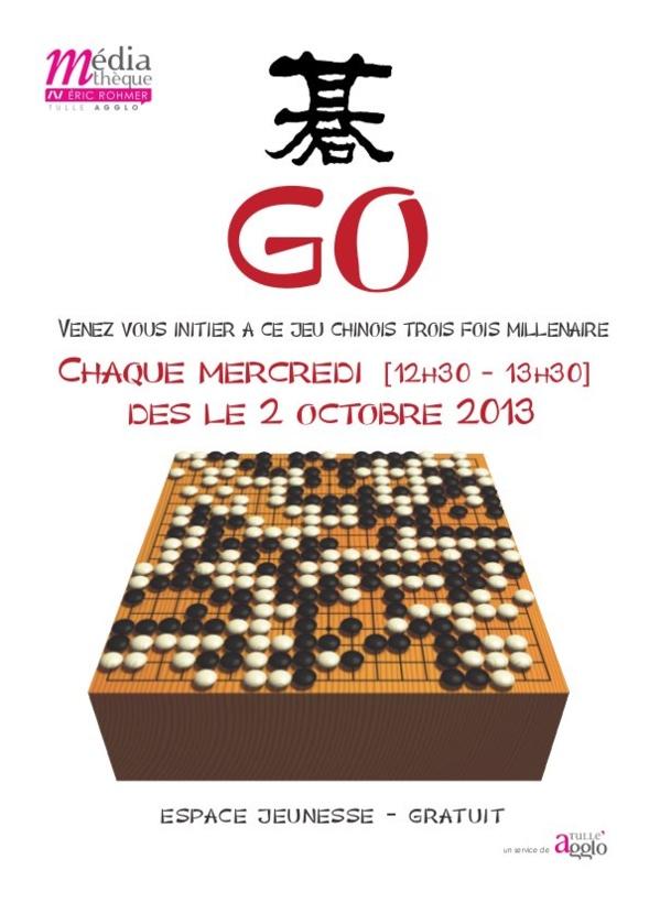 GO est l'un des plus vieux jeux connus.