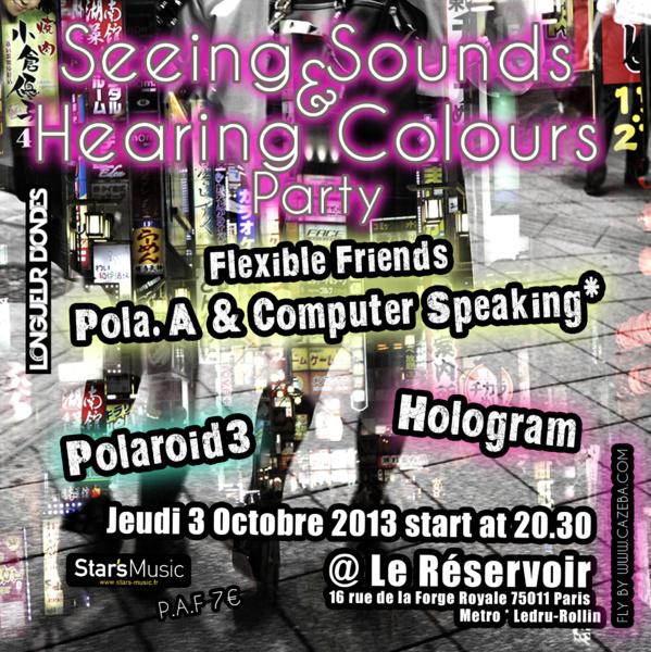 POLAROID3  |  HOLOGRAM POLA.A & COMPUTER SPEAKING