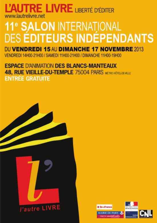 Manifeste du Salon L'Autre Livre...