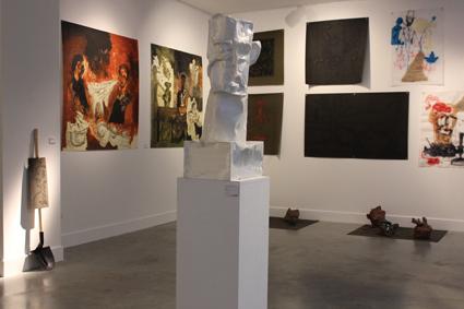 Vue de l'expo de Philippe Guérin (Jusqu'au 30/11/13)