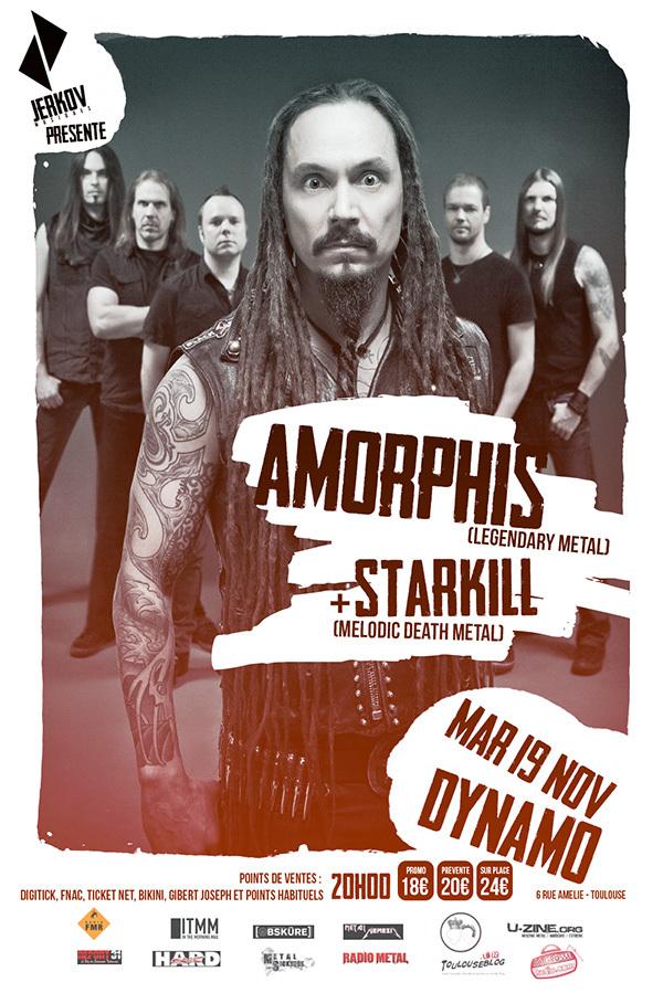 AMORPHIS + STARKILL