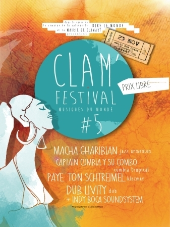 CLAM' FESTIVAL LE 23 NOVEMBRE 2013 A CLAMART