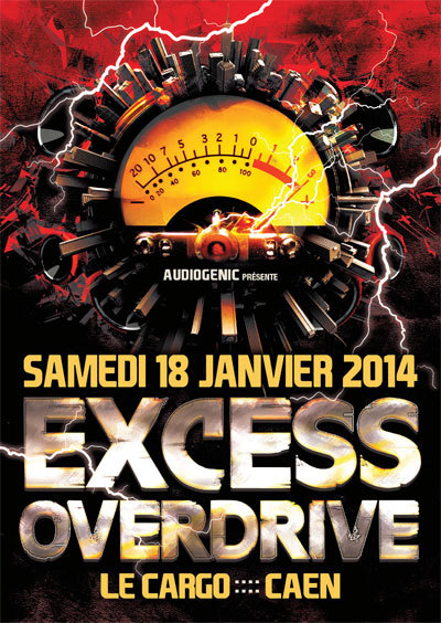 18/01/2014 EXCESS OVERDRIVE@Caen w/ Radium, Hellfish…