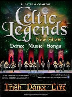 Celtic Legends, nouvele tournée en France en 2015