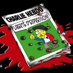 La caricature d'@ygreck : «Charlie Hebdo : liberté d'expression !» http://www.journaldemontreal.com/