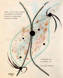 """Musée Jean Cocteau - Exposition temporaire André VERDET """"Cosmogonies"""""""
