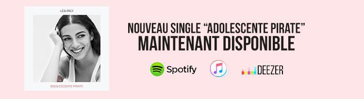 """Léa Paci dévoile son nouveau single """"Adolescente pirate"""""""