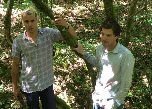 Rencontre à la résidence avec Antoine Carbonne et Johan Larnouhet