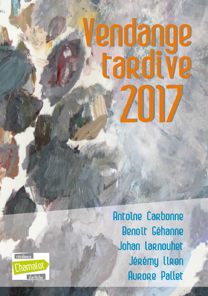 Exposition « Vendange tardive 2017 »