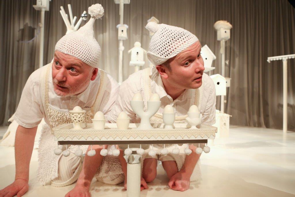 White au théâtre de Villefranche