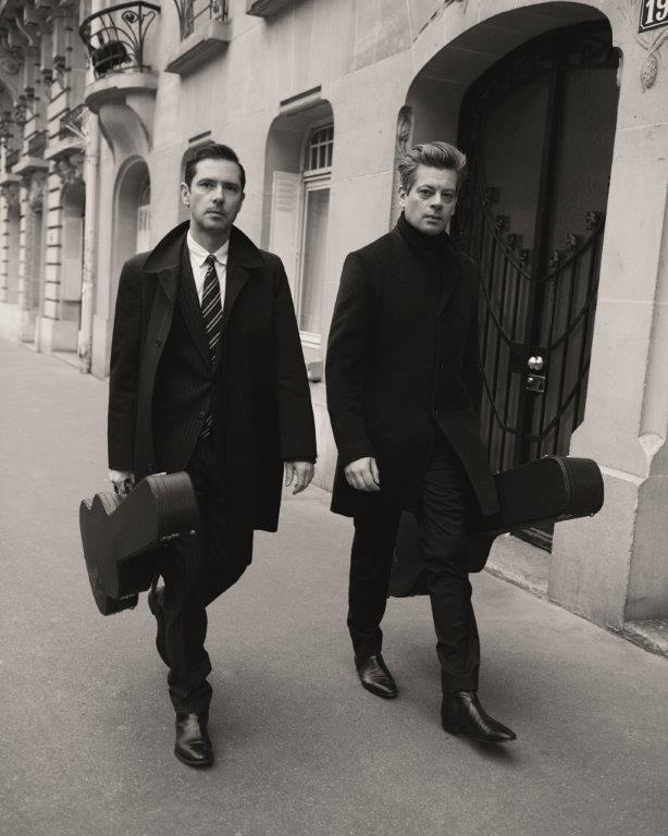 Benjamin Biolay et Melvil Poupaud au Théâtre de Villefranche