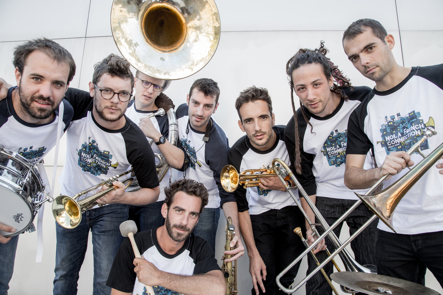 Nola French Connection Brass Band sort son 1er album