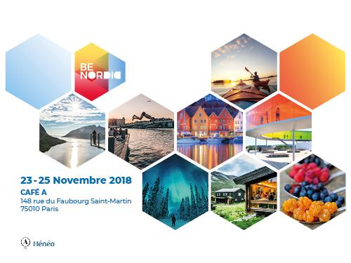 Be Nordic, trois jours pour découvrir la culture nordique les 23/24/25 novembre à Paris
