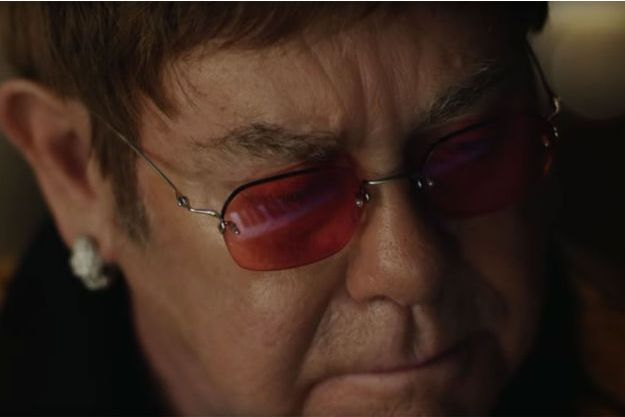 Elton John in the 2018 John Lewis Christmas advert Credit: YouTube