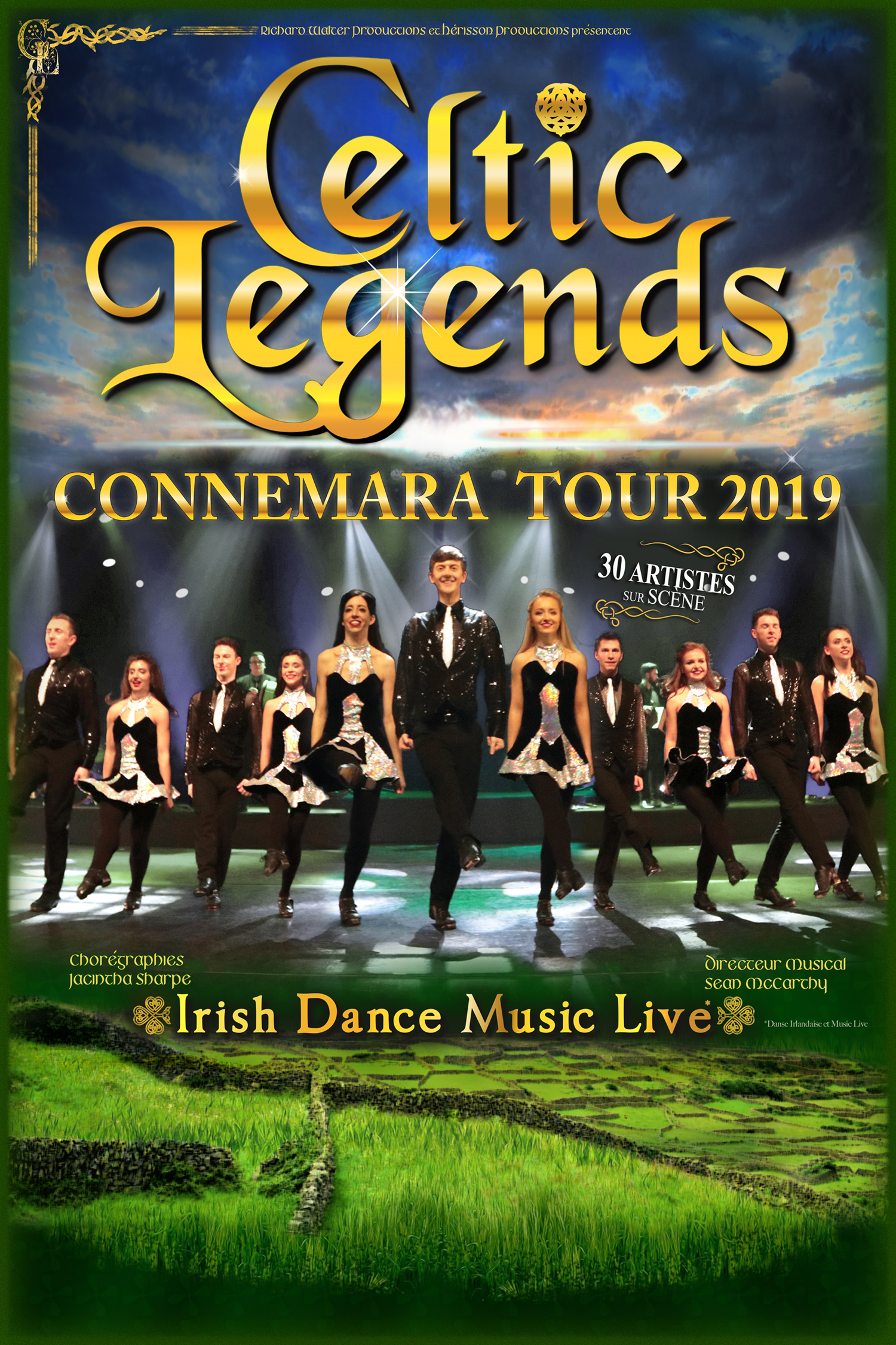 Celtic Legends revient en 2019 avec 5 dates à l'Olympia à Paris