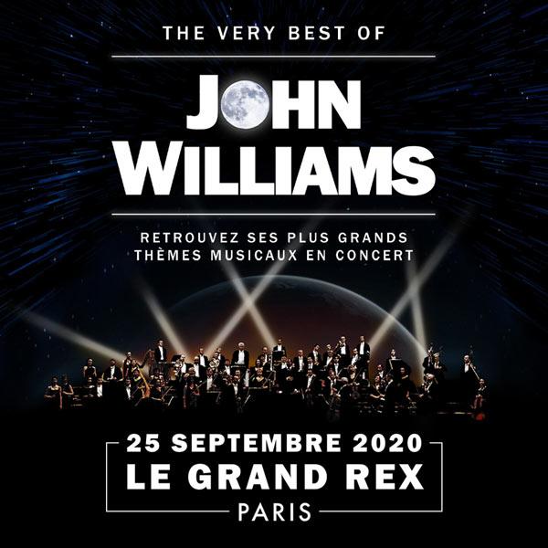 John Williams à écouter avec deux concerts en France les 23 et 25 septembre 2020