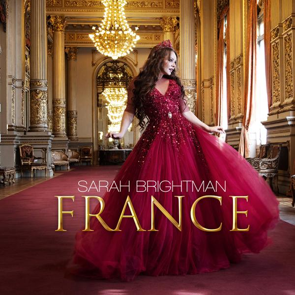 Sarah Brightman revient avec l'abum France et le clip en duo avec Florent Pagny