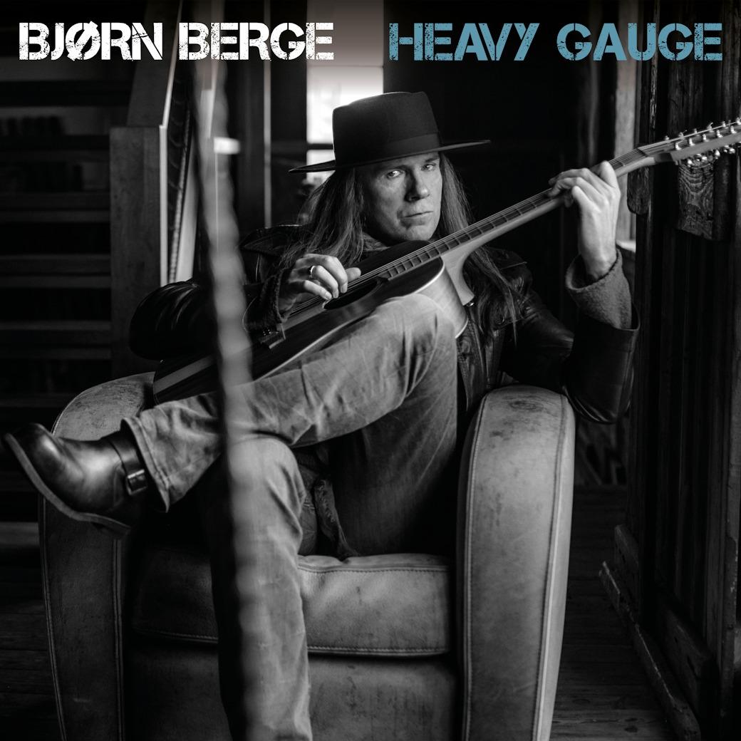 Bjørn Berge revient avec l'album de blues rock Heavy Gauge