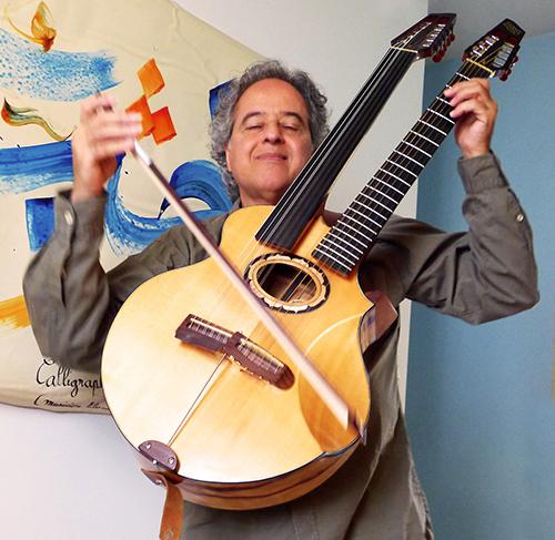 Abaji invite des musiciens écossais sur Blue Shaman