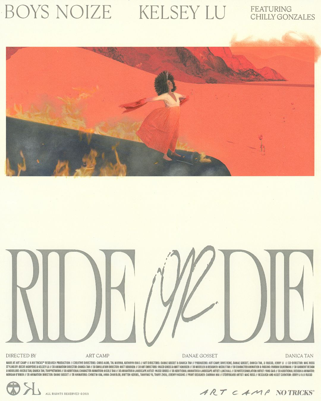 Boys Noize, Chilly Gonzales et Kelsey Lu s'associent pour Ride or Die