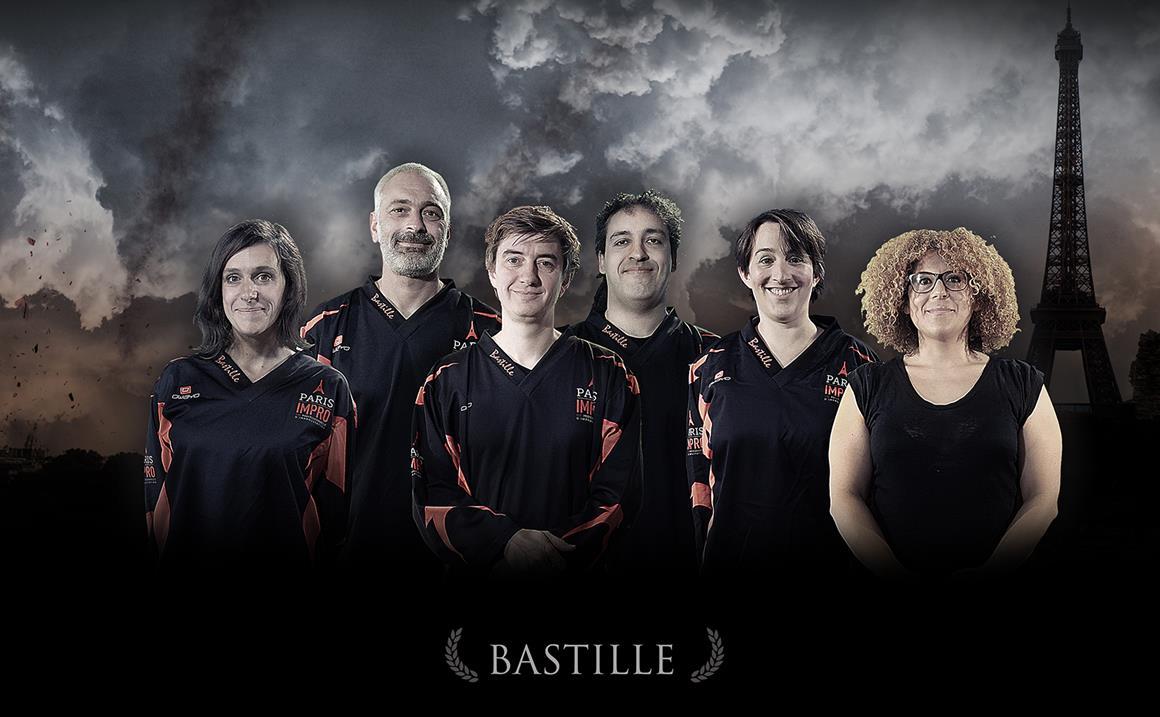 Coupe Paris Impro - Match BASTILLE/BELLEVILLE