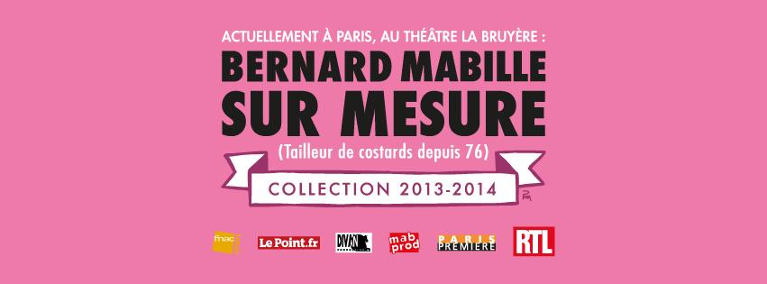 BERNARD MABILLE EN BELGIQUE !