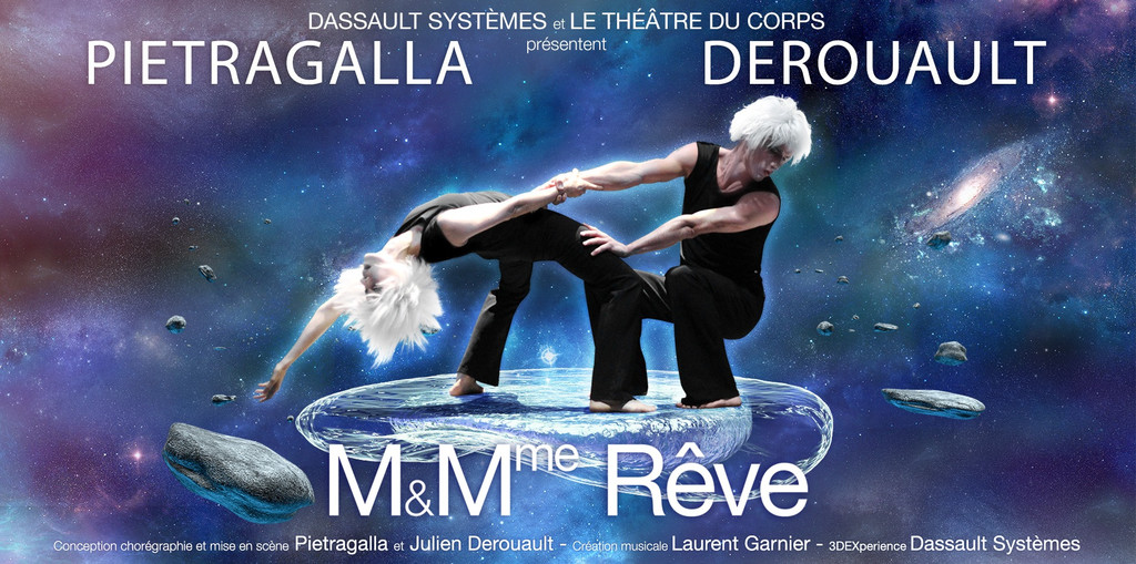 Pietragalla joue les prolongations au Grand Rex avec M et Mme Rêve