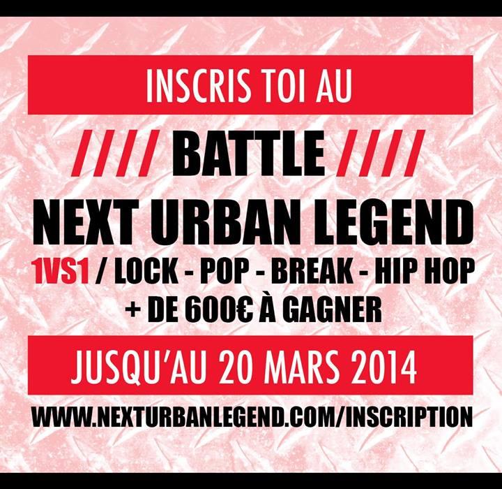 Battle Next Urban Legend