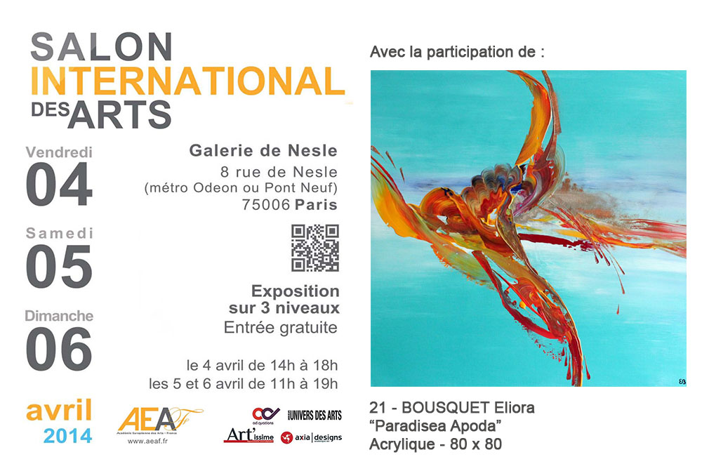 « Salon international de l'AEAF 2014 »