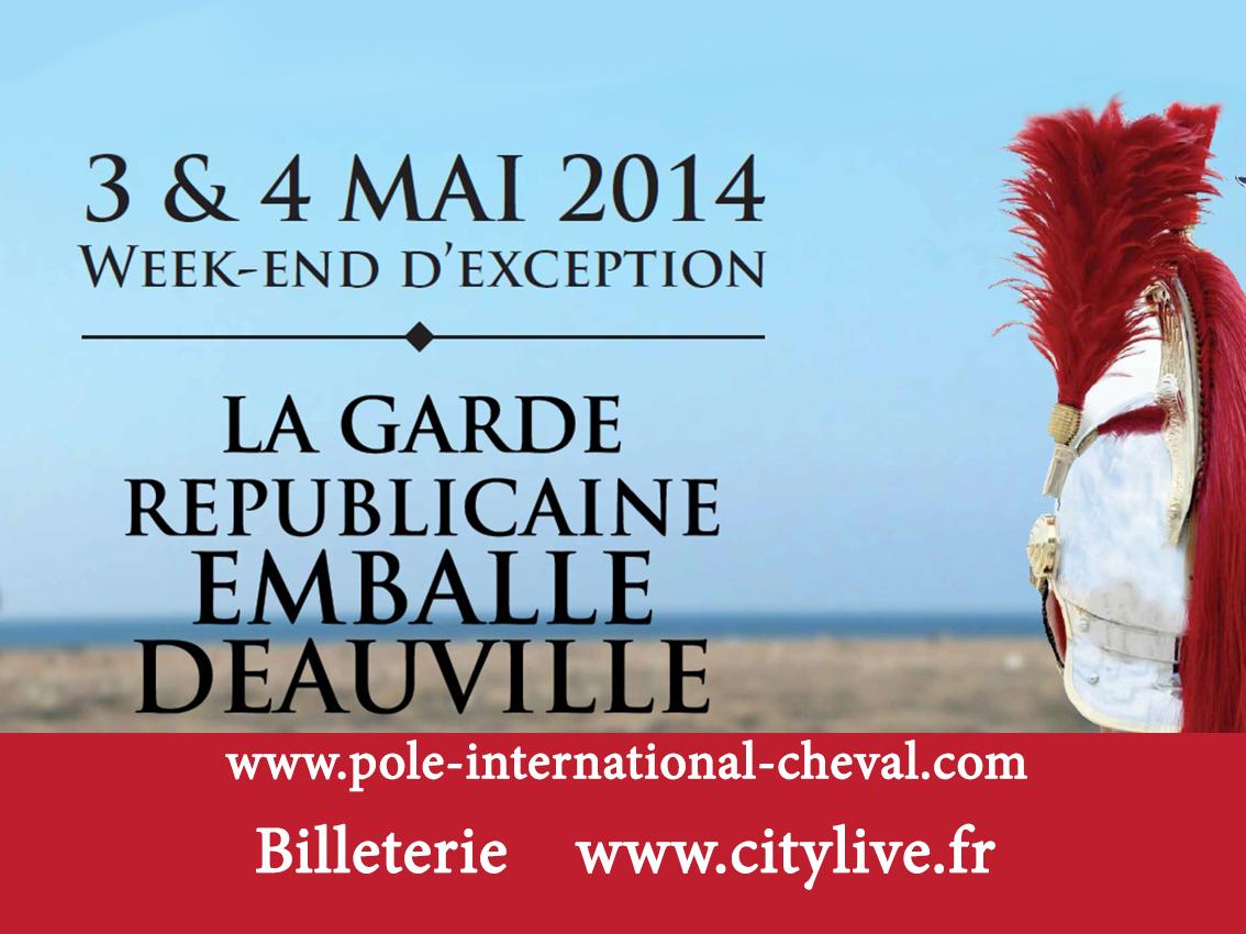 La Garde Républicaine emballe Deauville !
