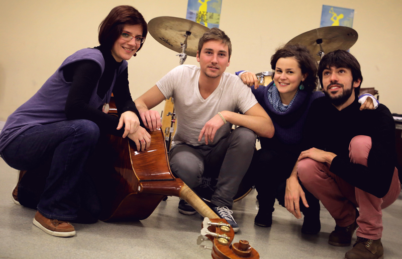 Nefertiti quartet en concert au 38Riv'
