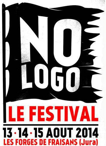 No Logo Festival// Du 14 au 15 aout à la Forges de Fraisans