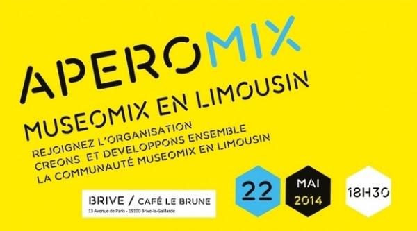 Apéromix Muséomix en Limousin #2 à BRIVE