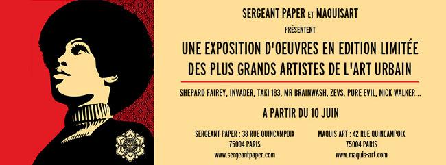 Print Time, l'exposition de Prints Maquis-Art & Sergeant Paper