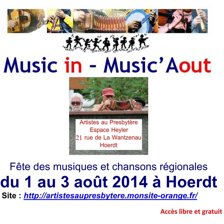Festival Music in - Music'Aout à Hoerdt