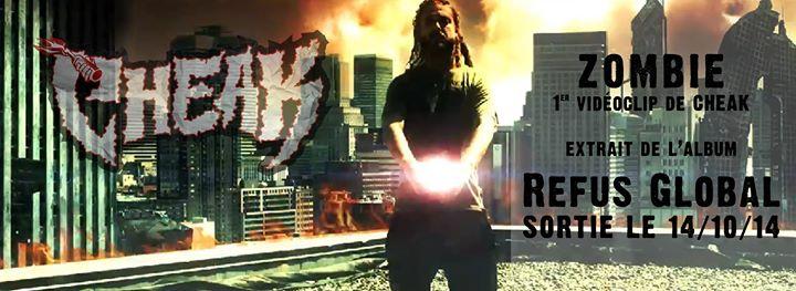 Cheak présente son premier vidéoclip, Zombie