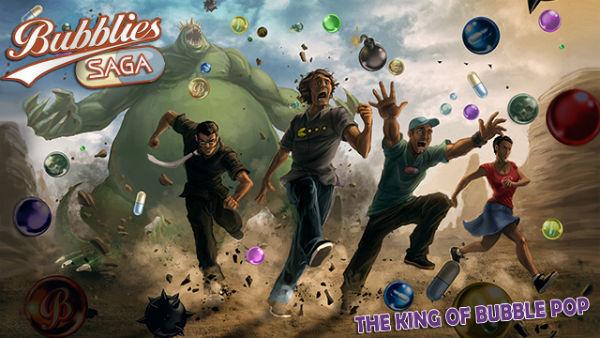 Bubblies Saga vs King.com -